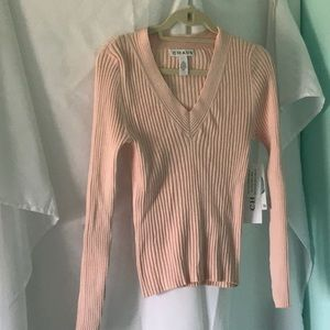 New peach stretch blouse